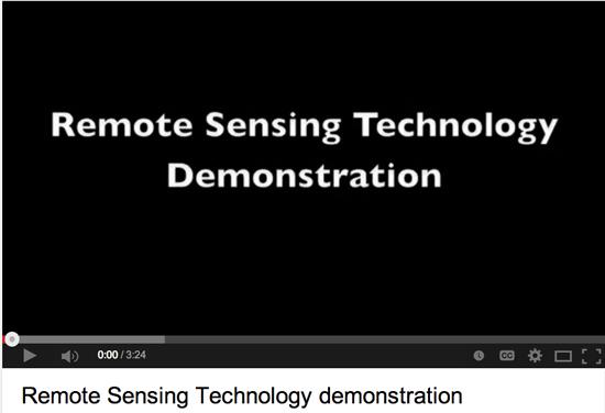 Remote sensing technology video